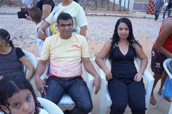 ex-prefeito Dilson Argemiro e esposa Andréia Alves