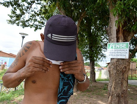 Espaço do Lagoas do Norte está sendo usado por usuários de drogas