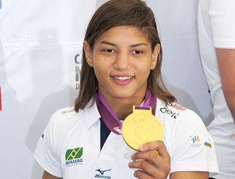 Campeã Olímpica, Sarah Menezes fica fora do Pan-Americano de Toronto