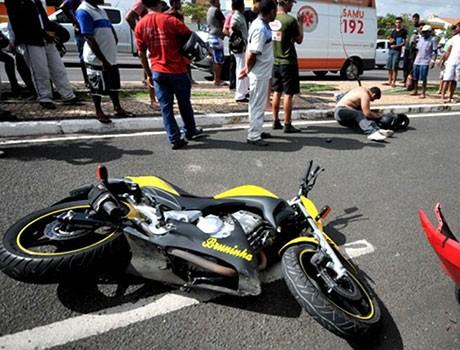 Piauí é líder no ranking de mortes por acidente de motocicletas
