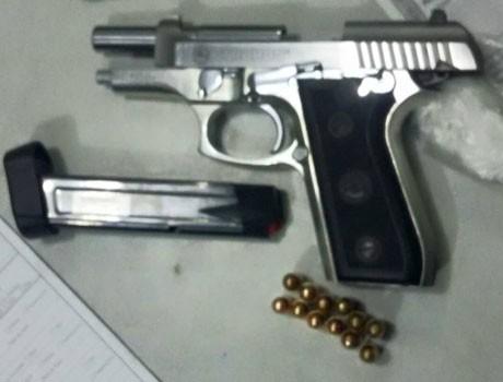 Taxista é preso por porte ilegal de arma na zona Sul de Teresina