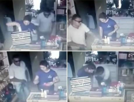 Loja de cosméticos é assaltada no bairro Dirceu Arcoverde; vídeo!