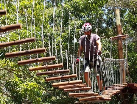 Parque Zoobotânico inaugura circuito de arvorismo em Teresina
