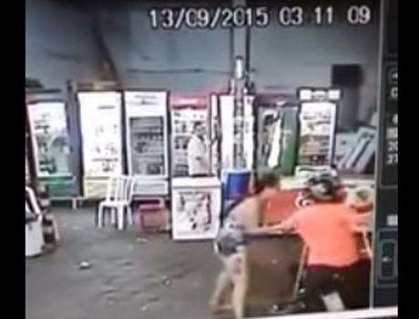 Suspeito de homicídio é preso após roubo de moto na zona Norte